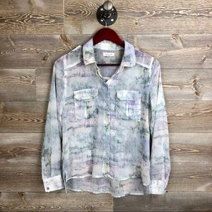 Urban Outfitters Silence & Noise Watercolor Top